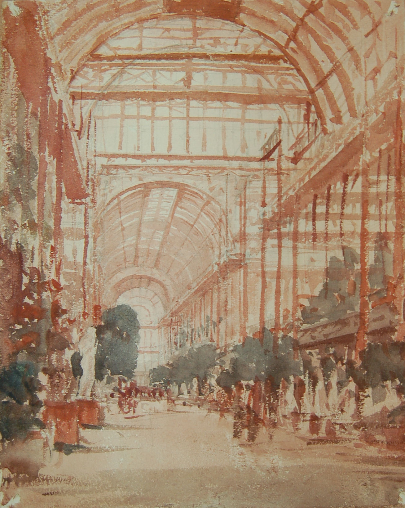 Interior of crystal palace sydenham london artware fine art rev jeuxipadfo Gallery