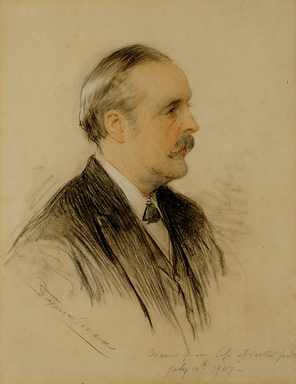 Portrait of Arthur James Balfour (1848-1930), First Earl Balfour