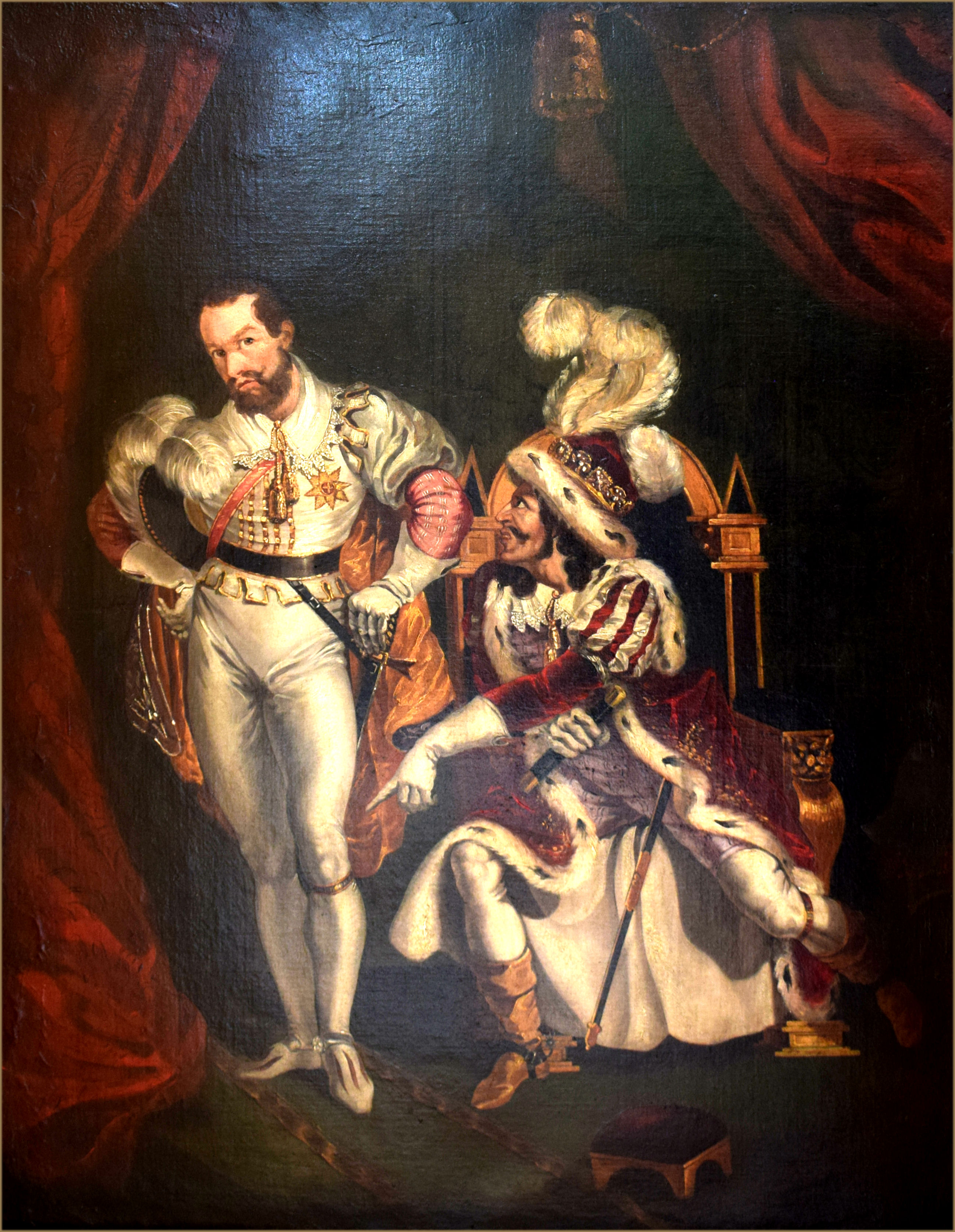 Portrait of Edmund Kean 1787-1833 as Richard III with the