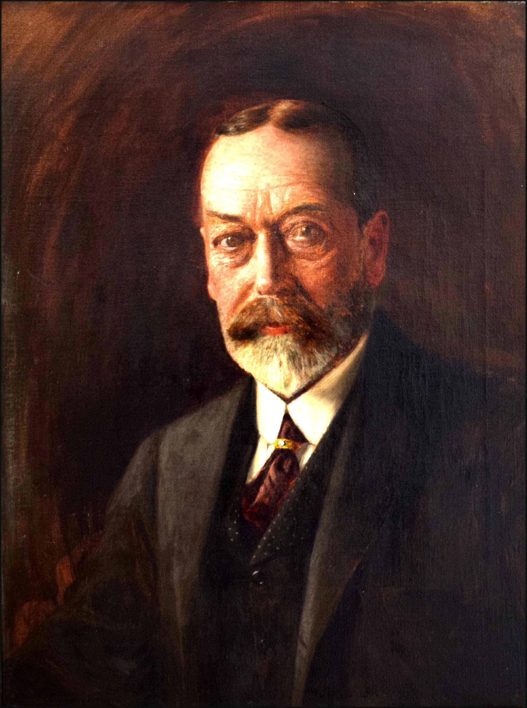 Portrait of King George V 1865–1936   Artware Fine Art
