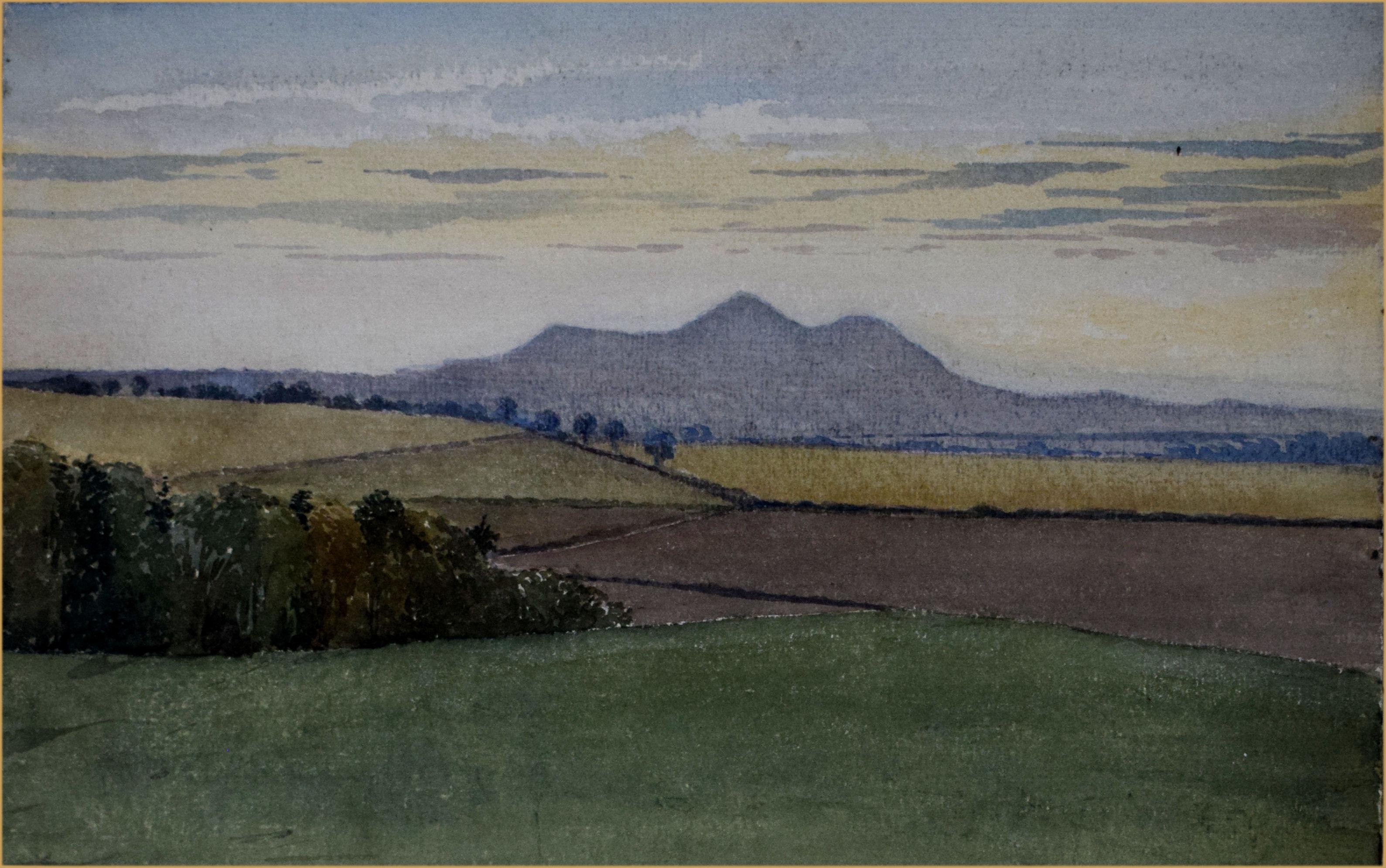 Eildon Hills Scotland Print by Tabitha Mary Melrose