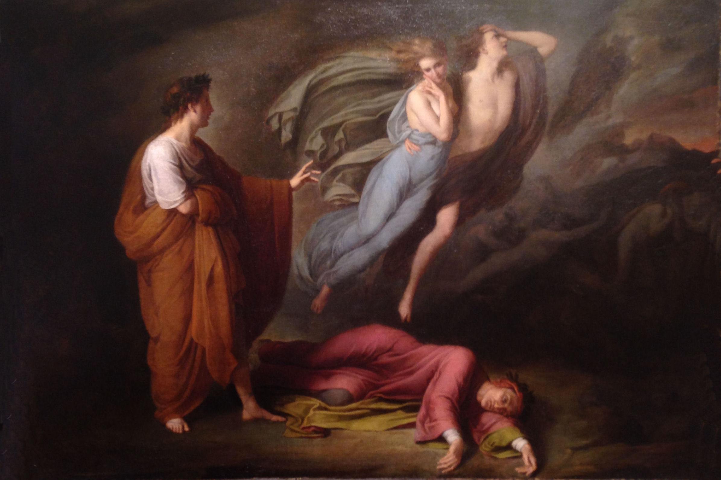 Dante und Virgil in der Hölle 4