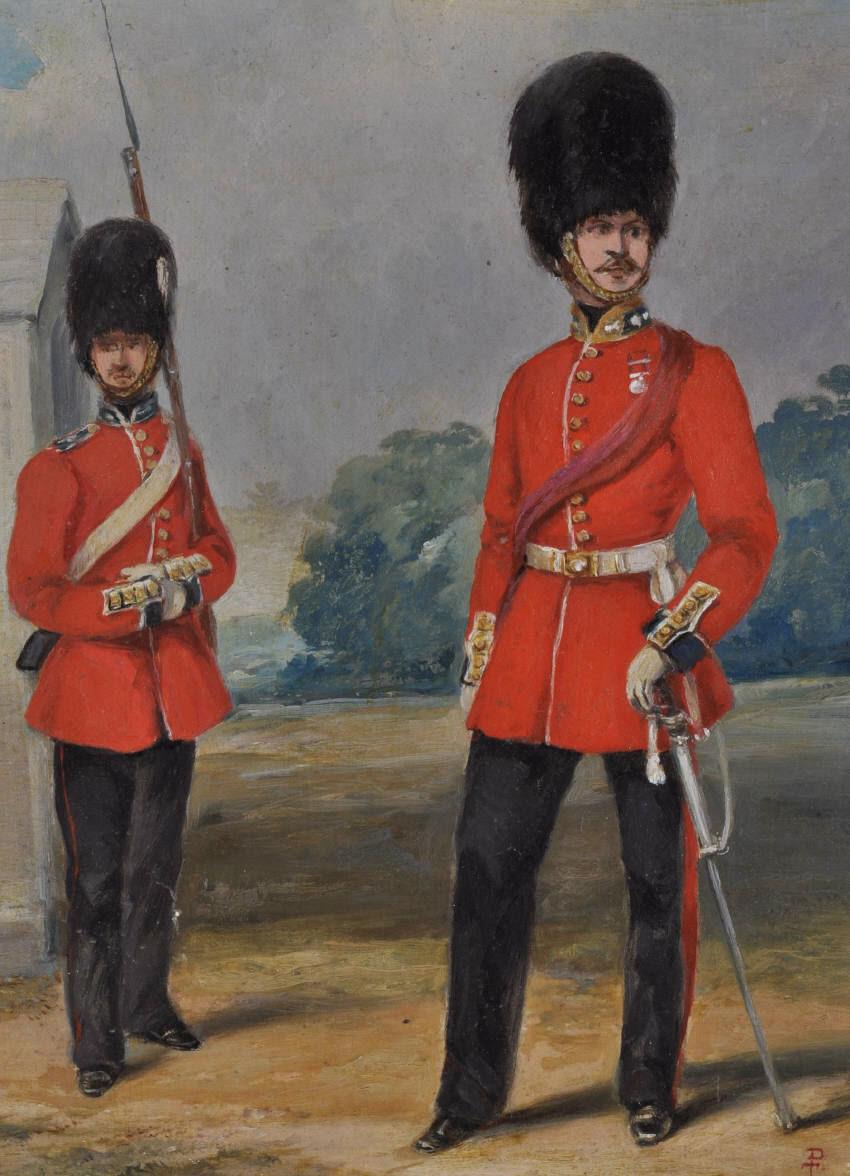Portrait Of Grenadier Guardsmen Artware Fine Art