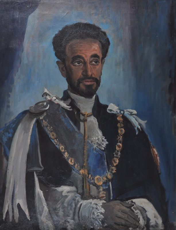 Portrait of His Imperial Majesty, Haile Selassie I, Emperor