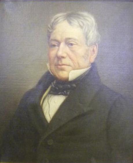 Portrait Of George Osbaldeston 1786 1866 Known As